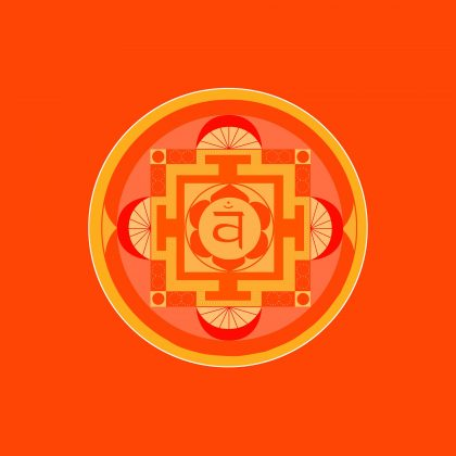 svadhistana, le chakra du pubis ou chakra sacré