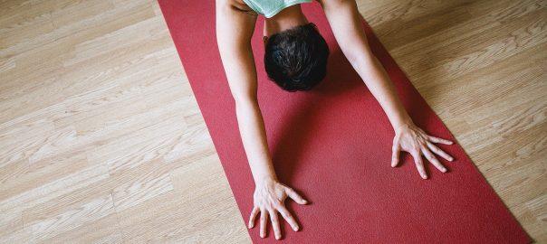 cours de yoga au bureau